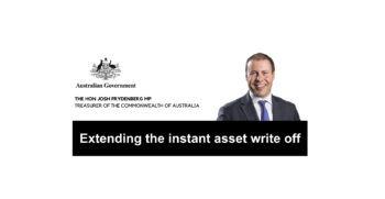 Extending the instant asset write off