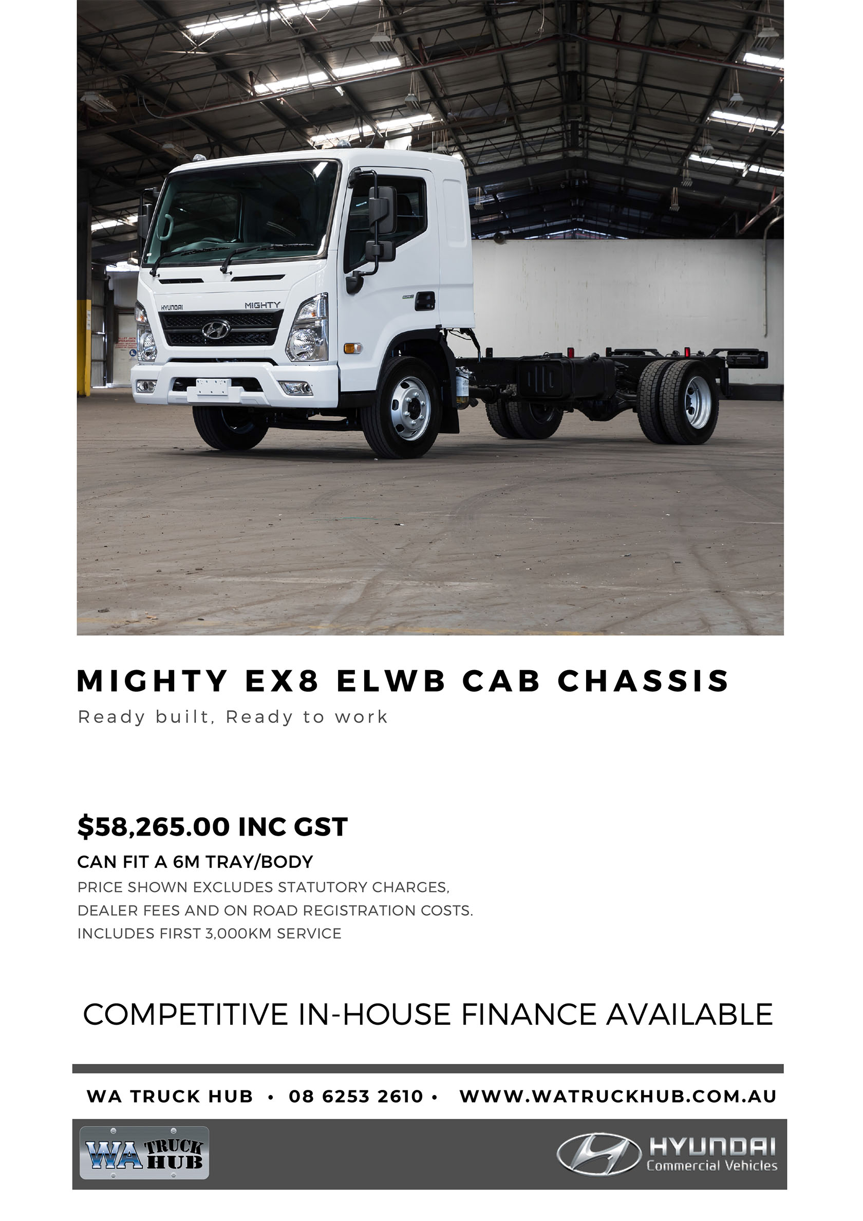 Mighty ELWB Cab Chassis Model - 2020