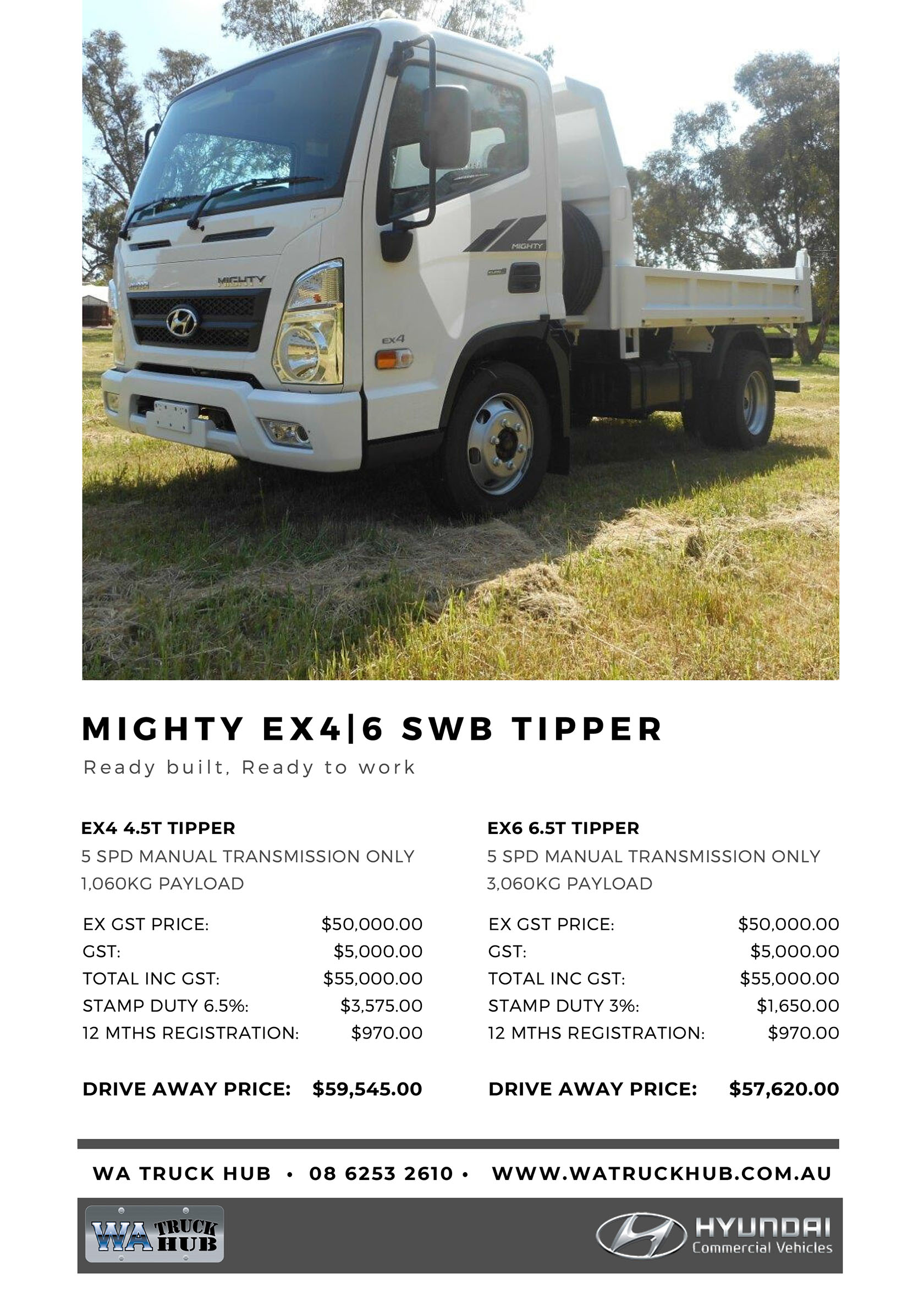 Mighty SWB Tipper Model